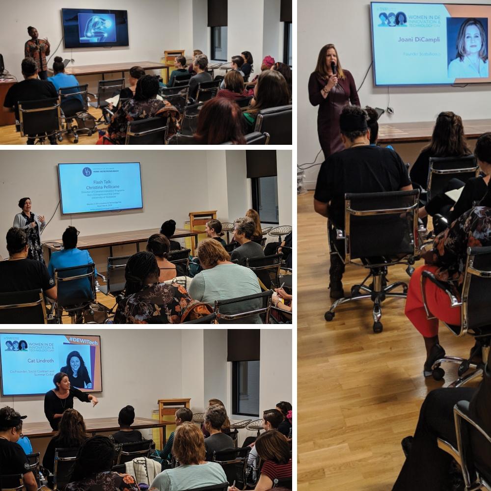 Entrepreneur Flash Talks at the Women in DE Innovation & Technology Day