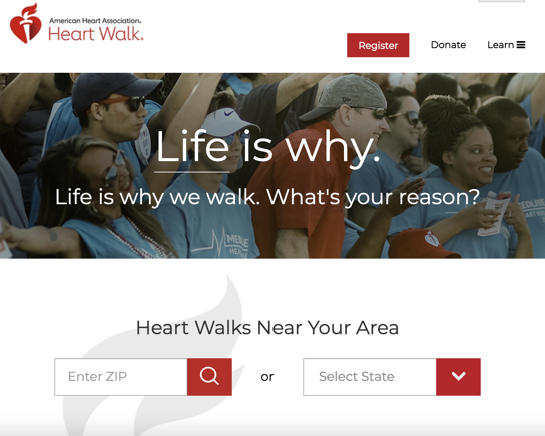 American Heart Association's Heart Walk