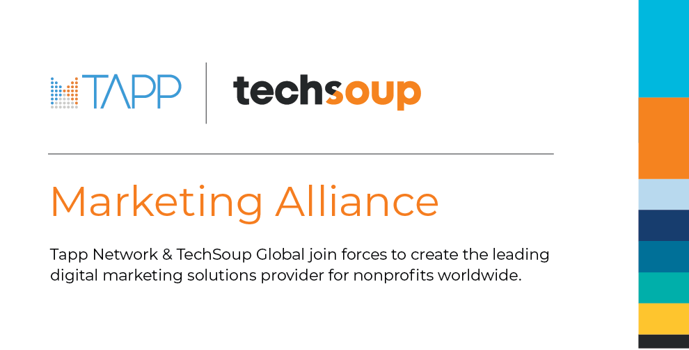 Tapp Network and tech soup marketing alliance