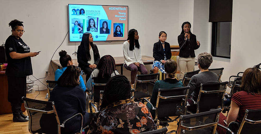 Young Women's Panel at the Women in DE Innovation & Technology Day
