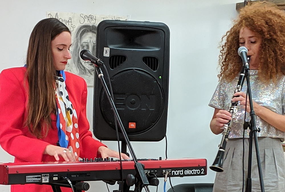 Outcalls band at the Women in DE Innovation & Technology Day